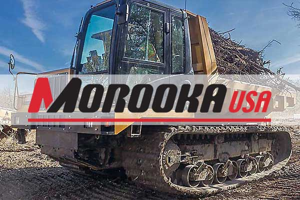 """morooka rubber track carriers exclusive distributor  morooka mst800vd, 24 """" rubber tracks"""